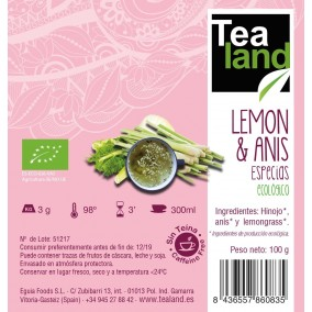 LEMON & ANIS ECO 100G