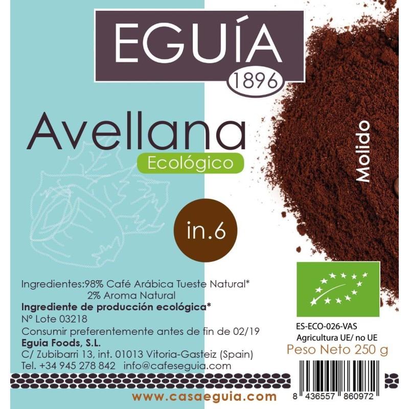 CAFÉ AVELLANA ECOLÓGICO