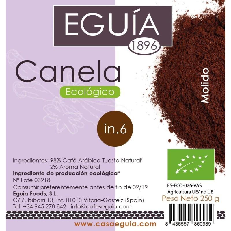 CAFÉ CANELA ECOLÓGICO
