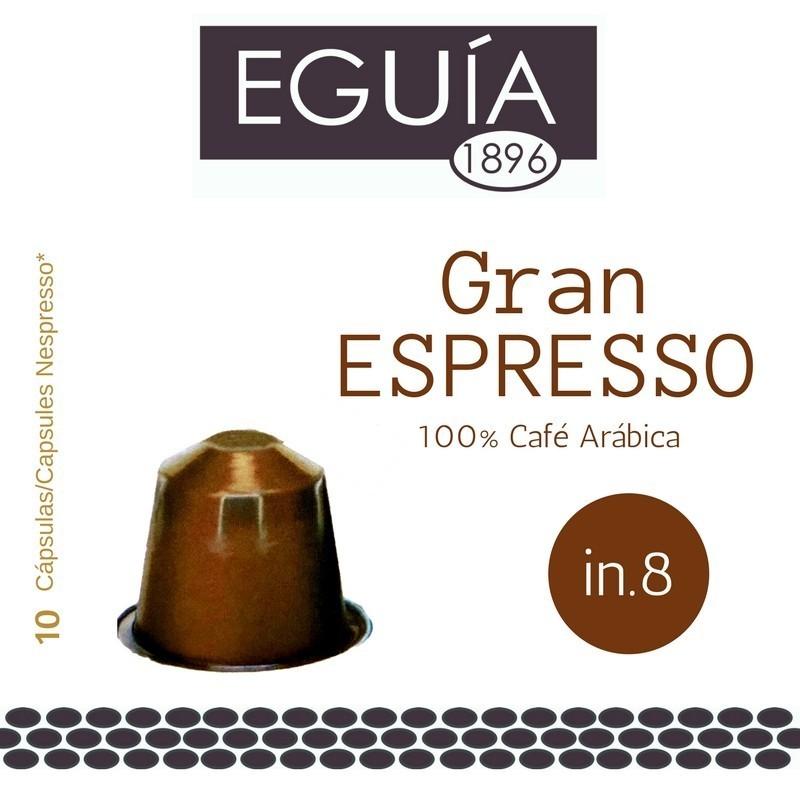 CÁPSULAS CAFÉ GRAN EXPRESSO