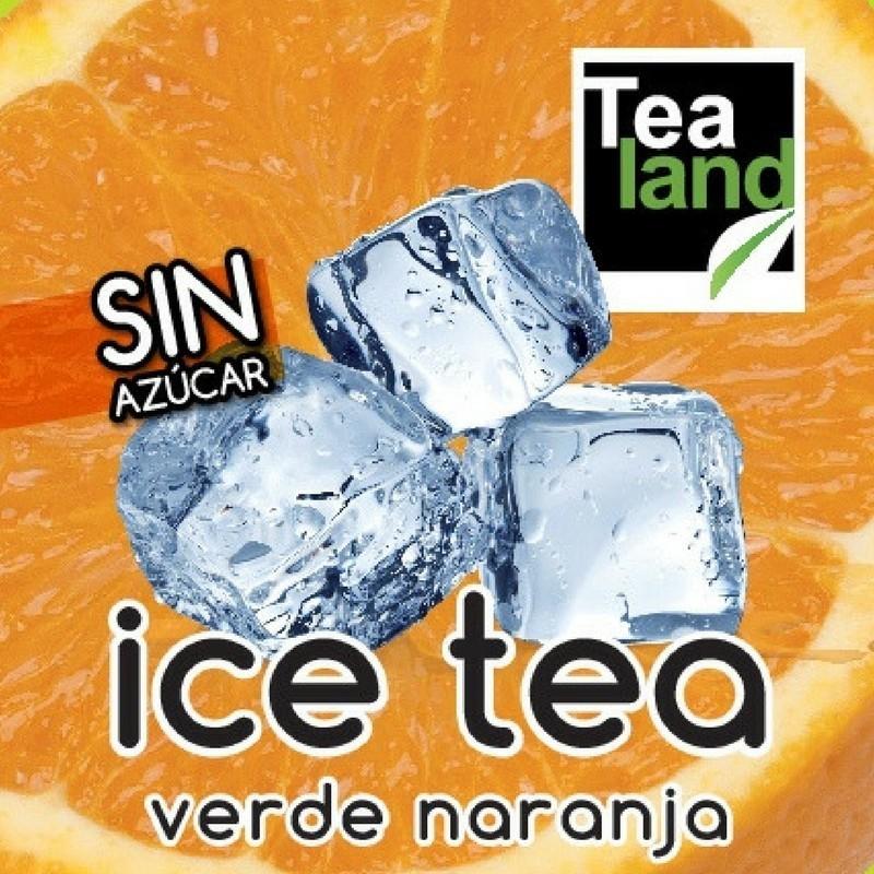 ICE TEA - TÉ FRÍO VERDE NARANJA