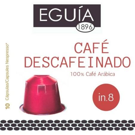 CÁPSULAS CAFÉ DESCAFEINADO