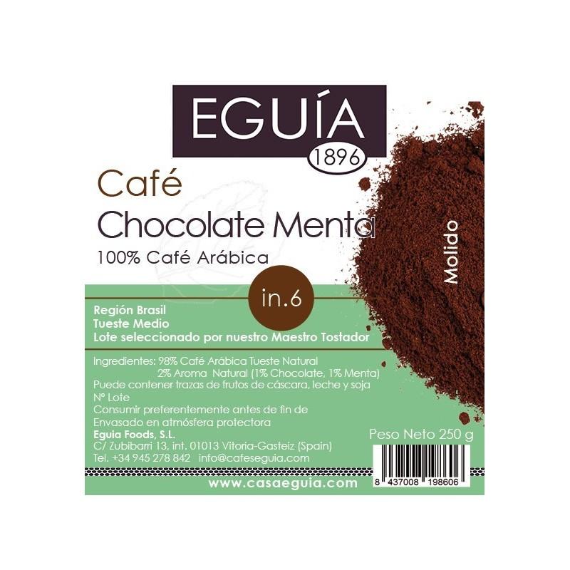 CAFÉ CHOCOLATE MENTA