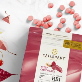 CHOCOLATE RUBY RB1 CALLEBAUT