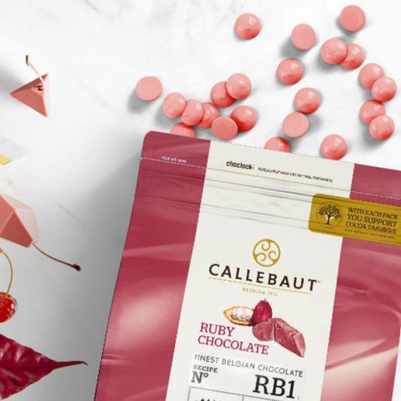 CHOCOLATE RUBY RB1 CALLEBAUT