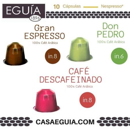 CÁPSULAS DE CAFÉ MIX