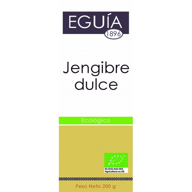 JENGIBRE ECOLÓGICO