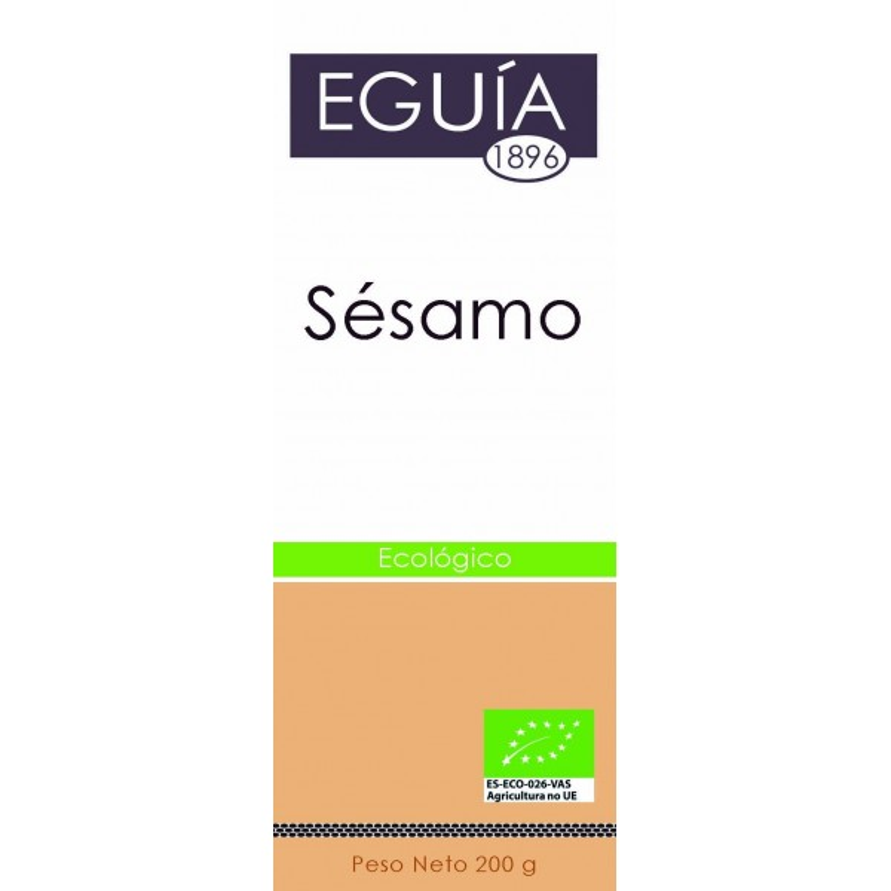 SÉSAMO PELADO ECOLÓGICO