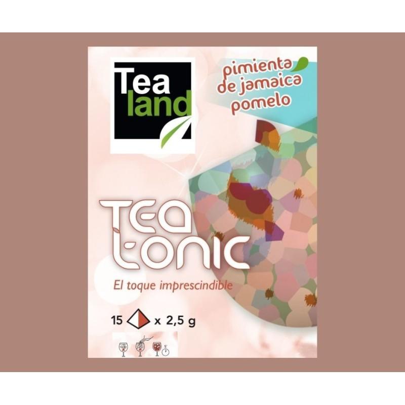 TEA TONIC PIMIENTA JAMAICA Y POMELO