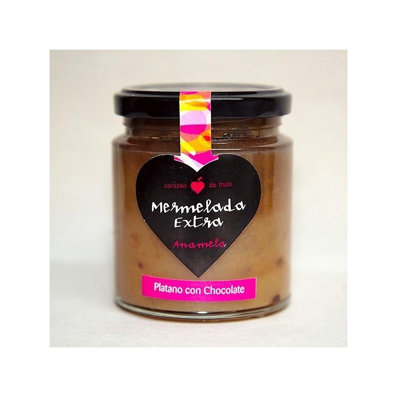 MERMELADA PLÁTANO CON CHOCOLATE