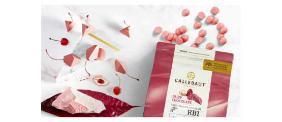 CHOCOLATE RUBY CALLEBAUT